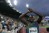Greičiausiai sezone bėgęs U.Boltas Norvegijoje iškovojo užtikrintą pergalę