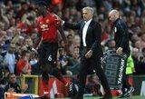 """J.Mourinho prašo P.Pogbos, kad pasakytų, jei nori palikti """"Manchester United"""" klubą"""