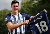 """Oficialu: G.Barry nusprendė karjerą pratęsti """"West Brom"""" klube"""