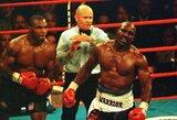 Lažybininkai įvertino M.Tysono galimybes nugalėti E.Holyfieldą, WBC prezidentas žada sugrąžinti legendą į reitingą