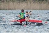 Europos čempionate startuos 7  Lietuvos baidarių ir kanojų irkluotojų įgulos