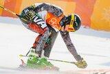 Dvejos kalnų slidinėjimo varžybos Italijoje A.Drukarovui susiklostė prastai
