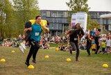 Kauno Nemuno saloje vykusi šeimų sporto šventė pateikė staigmenų