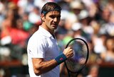 """Be intrigos: R.Federeris per valandą įveikė D.Šapovalovą ir pateko į """"Miami Open"""" finalą"""