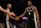 "K.Leonardas nori likti ""Spurs"" gretose"