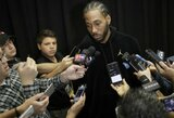 """K.Leonardą su gimtadieniu pasveikinusi """"Spurs"""" sulaukė internautų pašaipų"""
