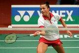 Turnyre Rumunijoje badmintonininkė A.Stapušaitytė iškrito ketvirtfinalyje