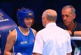 A.Starovoitova pralaimėjo pirmąją kovą pasaulio moterų bokso čempionate
