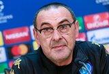"""M.Sarri nepatenkintas dėl galutinio """"Chelsea"""" komandos rungtynių rezultato"""