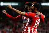"""T.Partey'us pripažino, jog nesijaučia laimingas būdamas """"Atletico"""" klube, tačiau vis tiek nori ir toliau ginti Madrido ekipos garbę"""