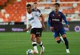 """Dešimtyje rungtyniauti likusi """"Levante"""" 98-ąją minutę išplėšė lygiąsias su """"Valencia"""""""