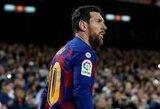 M.Pochettino įvardijo vieną klubą, kuriame norėtų dirbti kartu su L.Messi
