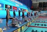 A.Šeleikaitė pateko į pasaulio plaukimo taurės finalą, J.Jefimova atsisakė startuoti