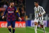 """R.Koemanas prieš C.Ronaldo ir L.Messi akistatą: """"Negaliu pasakyti, kuris yra geresnis"""""""
