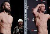 """Oficialiai patvirtinta """"UFC 244"""" turnyro pagrindinė kova: N.Diazas ir J.Masvidalis neturėjo problemų su svorio metimu"""
