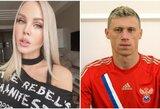 Visą šeimą užkrėtęs Rusijos futbolininkas – ligoninėje, žmona vargsta net gerdama vandenį
