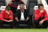 """ESPN: """"Manchester United"""" nesvarsto pakeisti J.Mourinho Z.Zidane'u"""