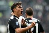 """Be C.Ronaldo žaidęs """"Juventus"""" iškovojo pergalę prieš """"Serie A"""" lygos autsaiderius"""