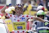 """R.Majka laimėjo dar vieną """"Tour de France"""" etapą, V.Nibali didina savo persvarą"""
