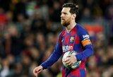 """Buvęs """"Inter"""" sporto direktorius atskleidė, jog L.Messi prieš 12 metų atsisakė palikti """"Barceloną"""""""