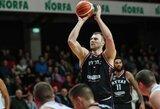 """A.Parachovskio taiklus dvitaškis paskutinėmis sekundėmis išplėšė """"Rytui"""" dramatišką pergalę prieš """"Partizan"""""""