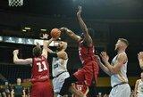 """Dramatišką pralaimėjimą patyręs """"Lietkabelis"""" baigė savo pasirodymą FIBA Čempionų lygoje"""