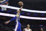 """NBA dienos momentai – trys """"žemė–oras"""" atakos"""