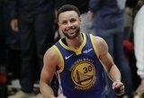 """Dominavęs S.Curry išvedė """"Warriors"""" į penktąjį NBA finalą iš eilės"""