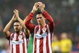 """F.Torresas turėtų pratęsti sutartį su """"Atletico"""""""