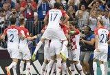 Pamatykite: įvarčiu pasibaigusi tragiška Prancūzijos rinktinės vartininko klaida pasaulio čempionato finale