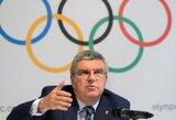 """Tarptautinis olimpinis komitetas: """"Nebijome rusams skirti skaudžiausios įmanomos bausmės"""""""