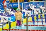 D.Rapšys pagerino dar vieną Lietuvos rekordą, R.Meilutytei čempionatas baigėsi anksčiau laiko