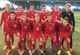 Lietuvos U-18 rinktinė su Izraeliu sužaidė lygiosiomis