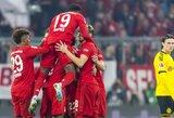 """Vokietijoje – R.Lewandowskio dublis ir triuškinama """"Bayern"""" pergalė prieš """"Borussia"""""""