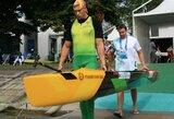 """Kelialapį į Rio de Žaneiro olimpiadą iškovojęs H.Žustautas: """"Penkta vieta nesu patenkintas"""""""