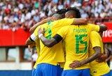 Likus kelioms dienoms iki pasaulio čempionato pradžios Brazilijos rinktinė ir toliau žengia pergalingu keliu