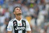 Prievartavimo skandalo krečiamas C.Ronaldo neįtrauktas į Portugalijos rinktinės sudėtį