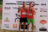 Marijampolėje surengtas antrasis atvirojo Lietuvos veteranų paplūdimio tinklinio čempionato etapas