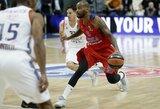 """CSKA vos neišleido pergalės iš rankų kovoje su """"Anadolu Efes"""""""