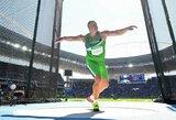 Lengvosios atletikos varžybose Vengrijoje A.Gudžius iškovojo trečią vietą