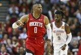 R.Westbrookas šventė pergalę prieš buvusią komandą