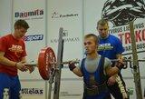 Asmeninį rekordą pagerinęs E.Valčiukas pasaulio jaunių čempionate iškovojo du mažuosius bronzos medalius