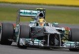 Dramatiškose lenktynėse Silverstoune nugalėjo N.Rosbergas