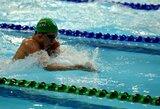 Lietuvos plaukimo čempionate pagerintas pirmasis šalies moterų rekordas