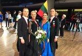 Šokėjai E.Sodeika ir I.Žukauskaitė laimėjo pasaulio čempionato bronzos medalius