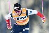 Pasaulio slidinėjimo taurės etape Šveicarijoje geriausiai tarp lietuvių pasirodė M.Vaičiulis