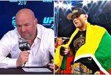 D.White'as pasiūlė UFC kontraktus keturiems kovotojams ir įsiutino J.Anglicko gerbėjus