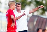 """FK """"Vilniaus"""" vyr. treneris I.Morinas: """"Kovos su lyderiais – neįkainojama patirtis jaunimui"""""""