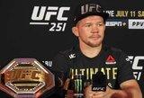 P.Janas įvardijo geriausią visų laikų UFC kovotoją