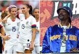 """Reperis Snoop Doggas reikalauja didesnių išmokų JAV moterų rinktinei: """"Sumokėkit, kiek jos yra iš tiesų vertos"""""""